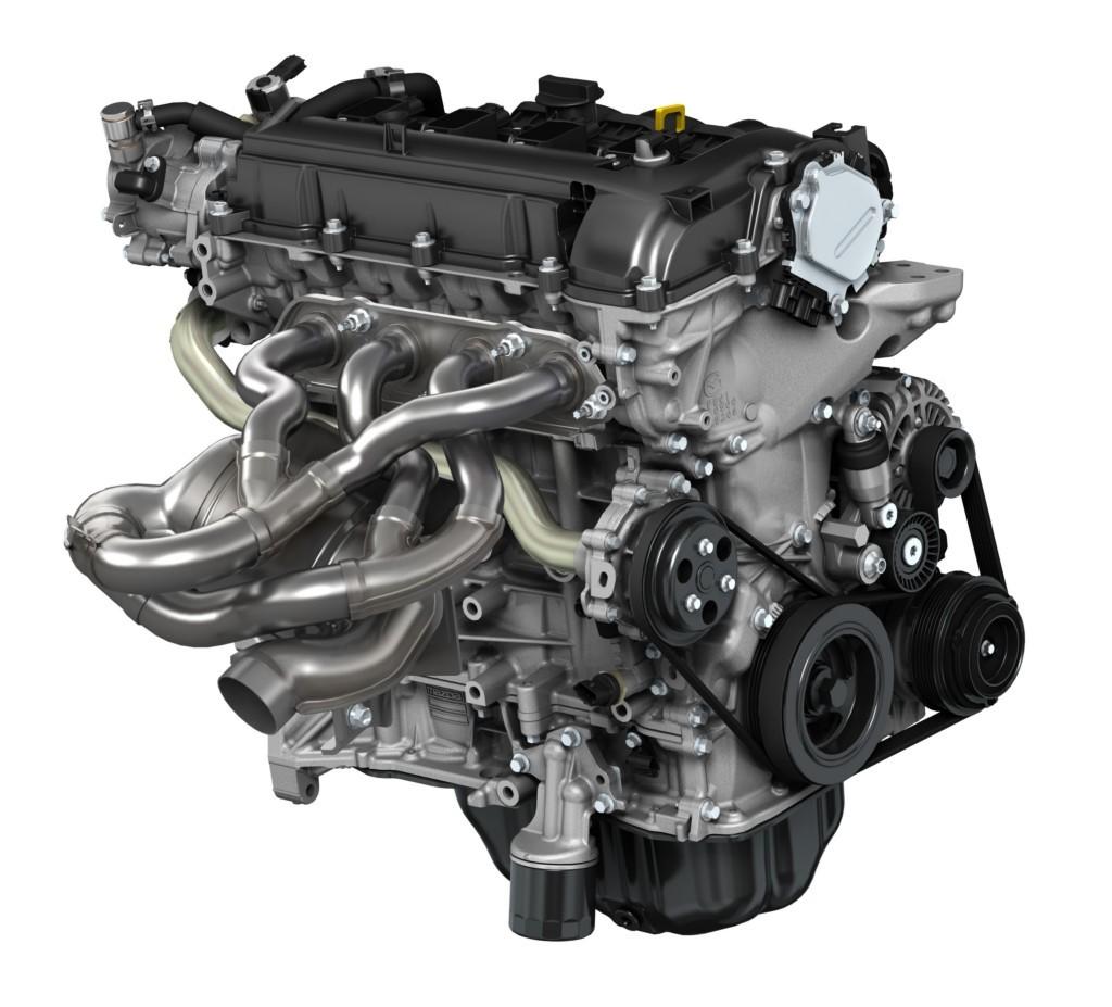 Motor Skyactiv de gasolina