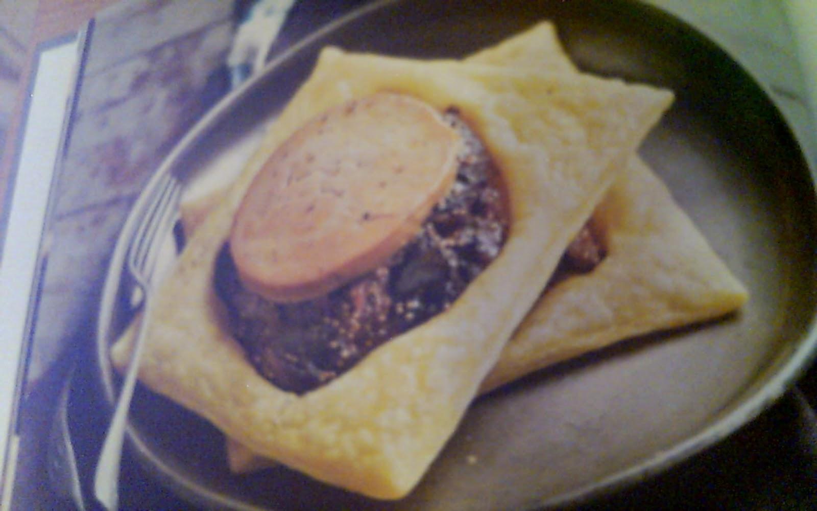 Cuisine d 39 hier et d 39 aujourd 39 hui feuillete de foie gras aux figues - Cuire du foie gras ...