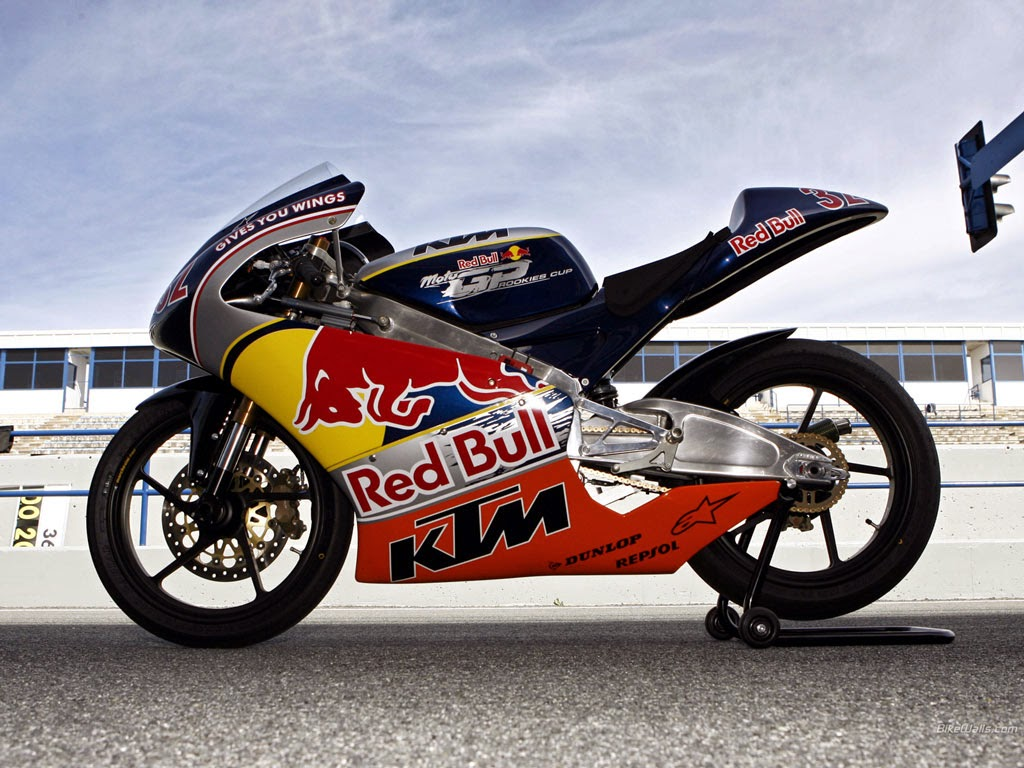 KTM & Red Bull Motogp Rookies Cup New Bikes
