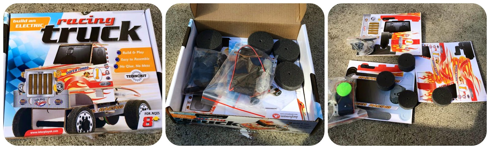Racing Truck Technokit from Interplay - what's in the box