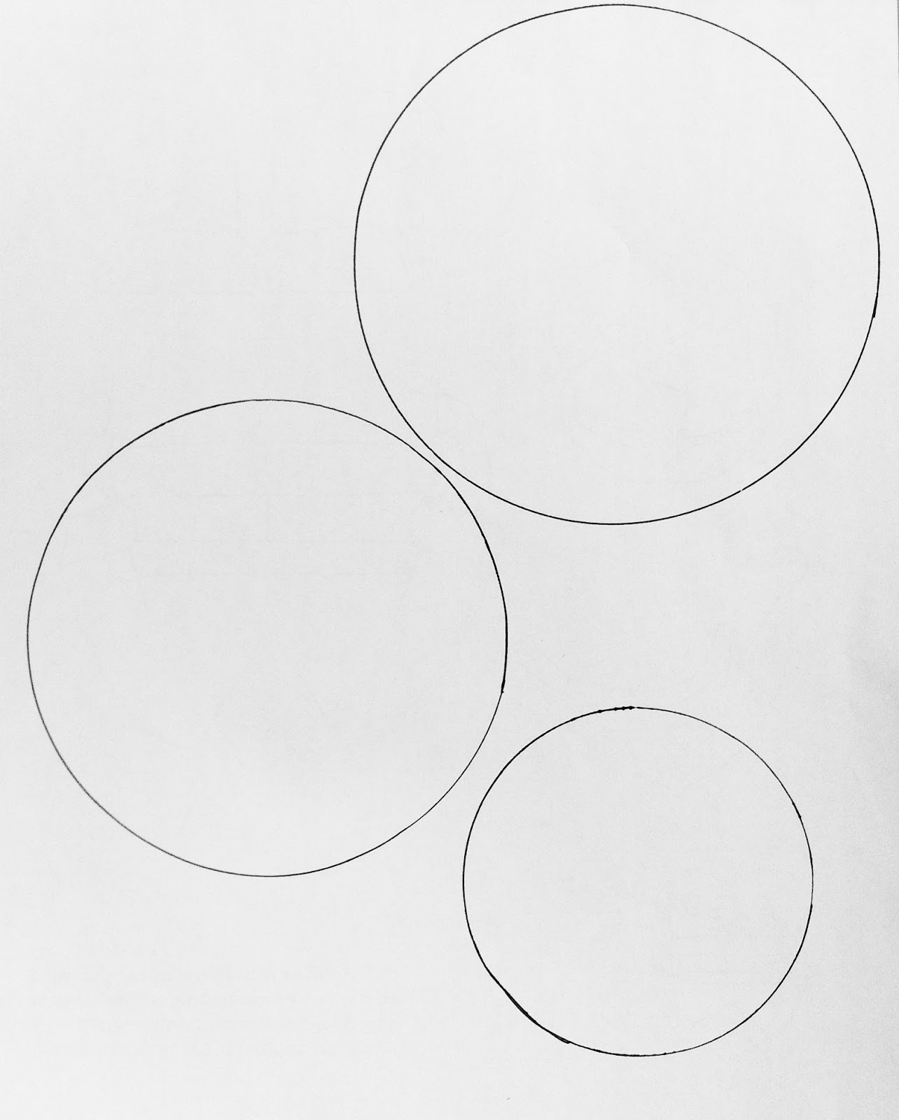 1284 x 1600 jpeg 130kB, Drew three circles and photocopied some for ...