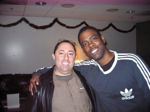 Chris Rock e Greg Wuliger, de Todo Mundo Odeia o Chris, na vida real (foto)