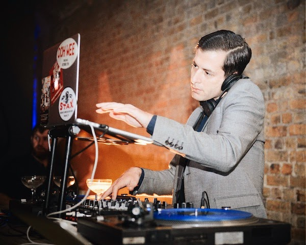 Mark Ronson Superdry Timothy Everest suit - London Collections Men Spring Summer 2015 show 14th June 2014