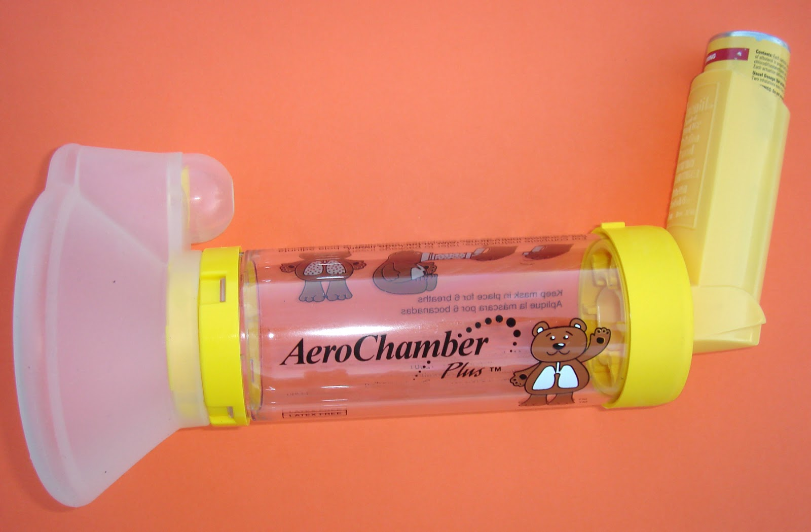 Inhaler - This is what Tom was given. Image from www.babygaga.com