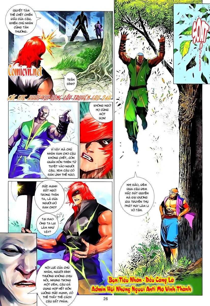 Phong Vân chap 637 Trang 26 - Mangak.info