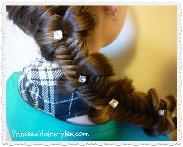 #fishtail bow tie braid hairstyle tutorial