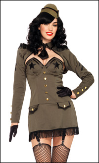 Sexy Pinup Girl Costumes