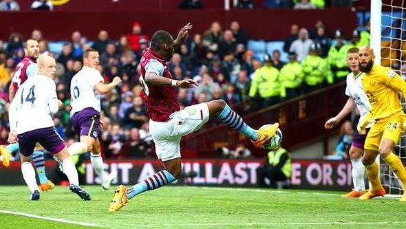 Results : Aston Villa 3-2 Everton