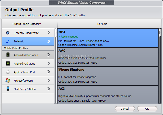WinX Mobile Video Converter 4.0.1 2014 full version download