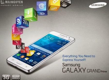 Spesifikasi Samsung Galaxy Grand Prime, Smartphone Android KitKat