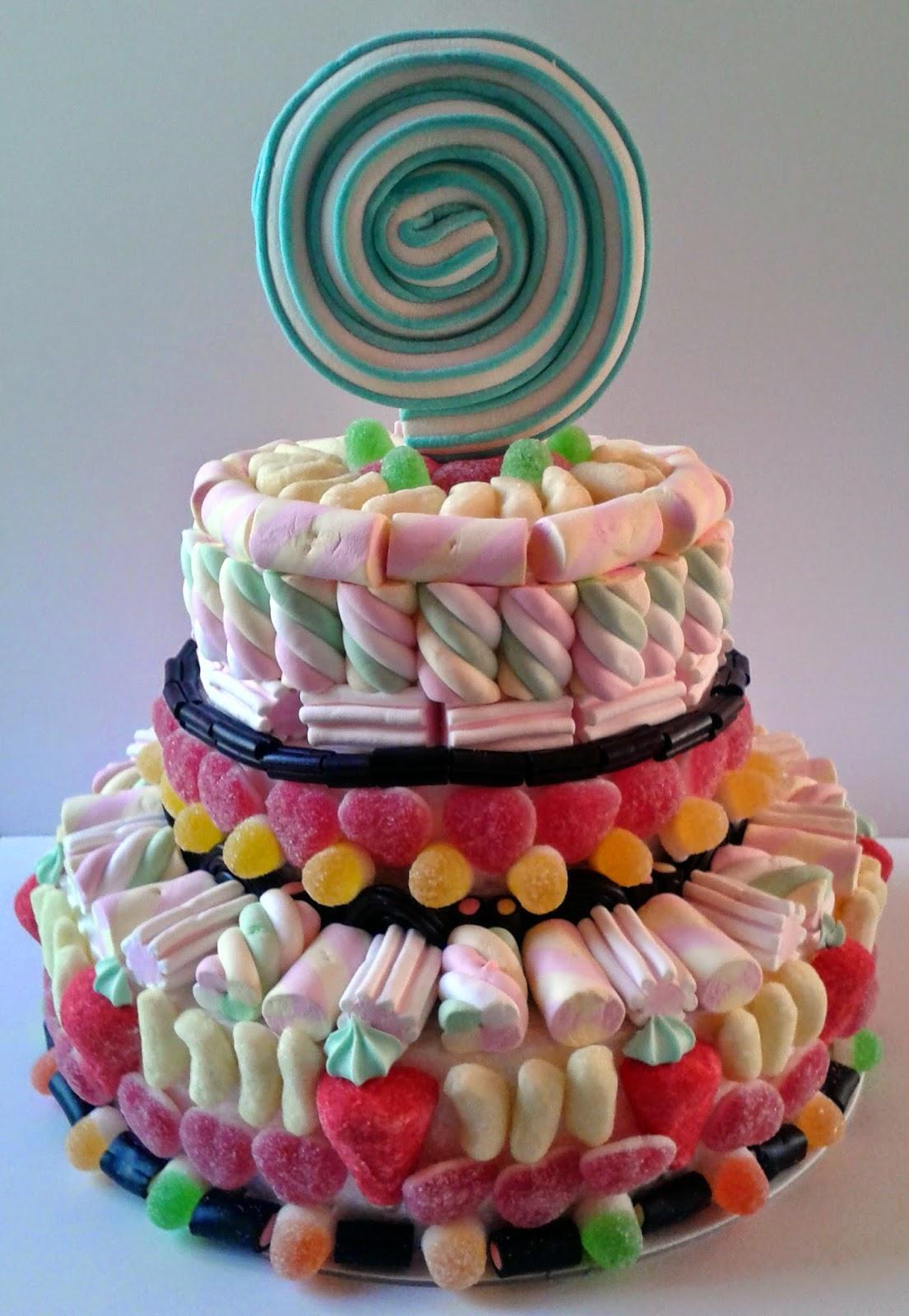 Popolare fior di anna: Torta di caramelle KO79