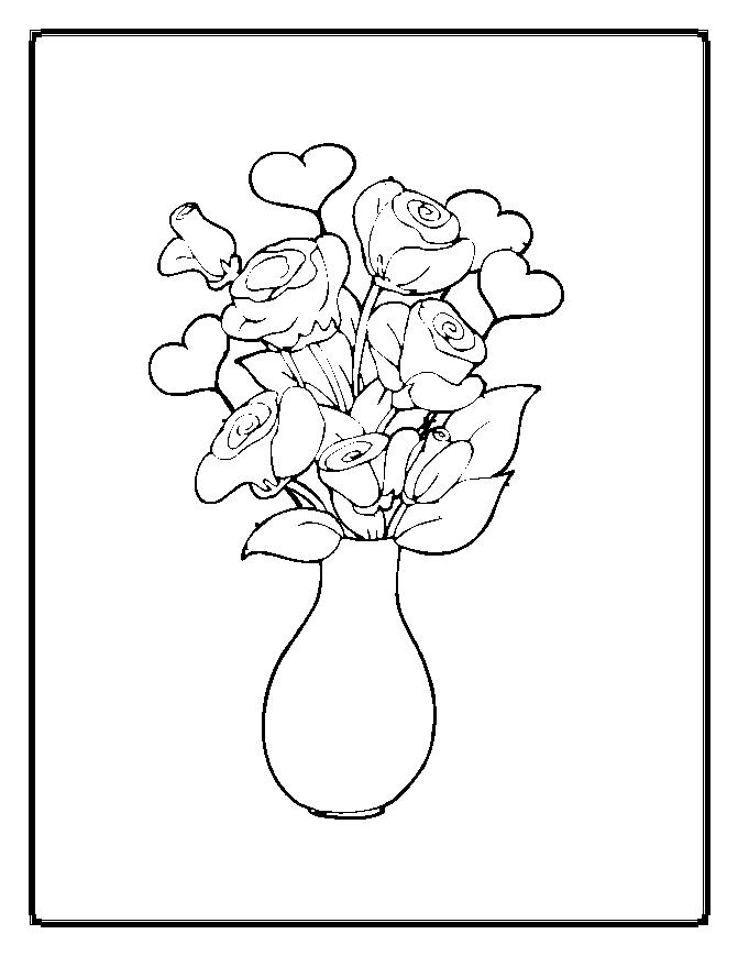 march flower coloring pages - photo#29