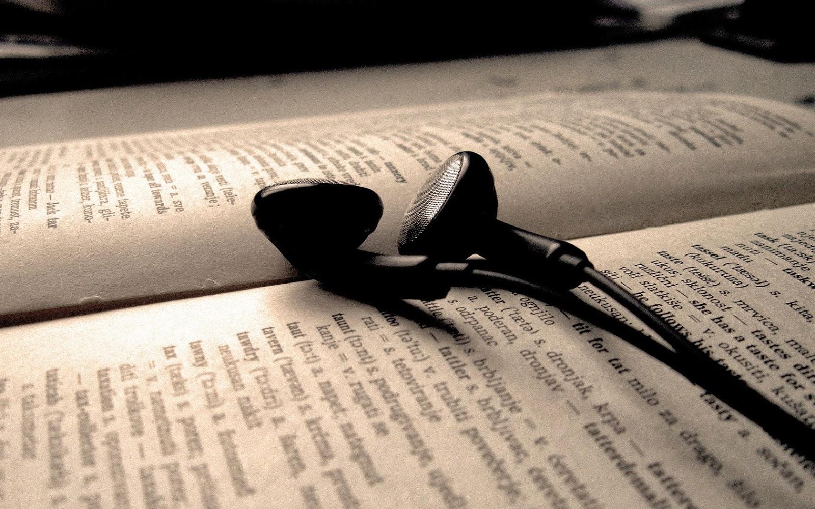 Música y literatura, dos placeres sencillos al alcance de todos