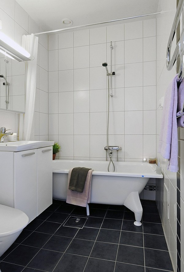 ALL-IN-ONE-BATHROOM APARTMENT DESIGN