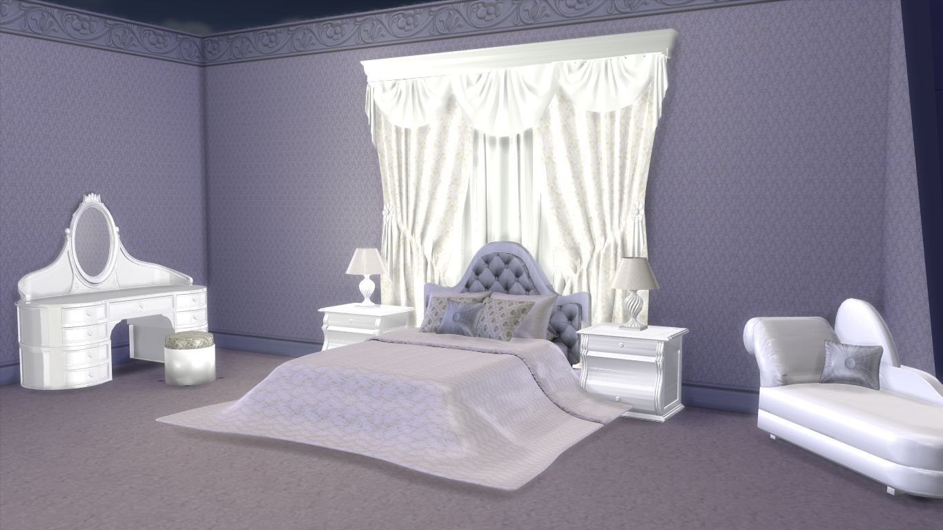 Sims 4 furniture download modern luxury bedroom for 4 bedroom