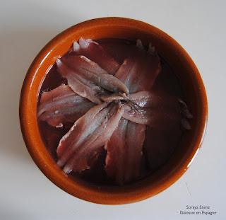 recettes poisson anchois tapas espagne cuisine pinchos