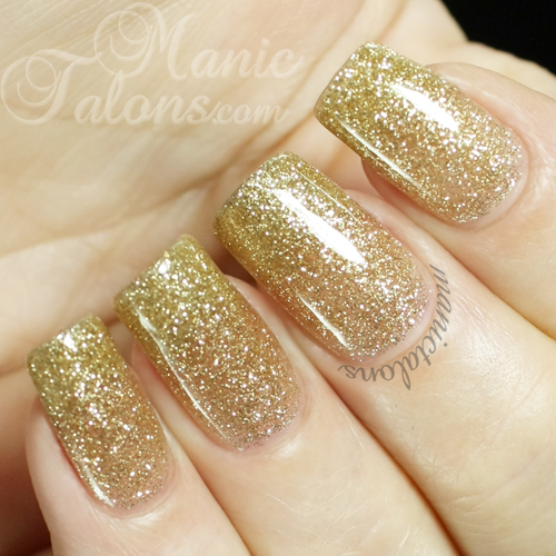 Pink Gellac by Chickettes Luxury Gold Swatch