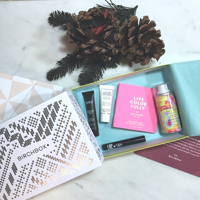 Birchbox December 2015 selections: A quick review