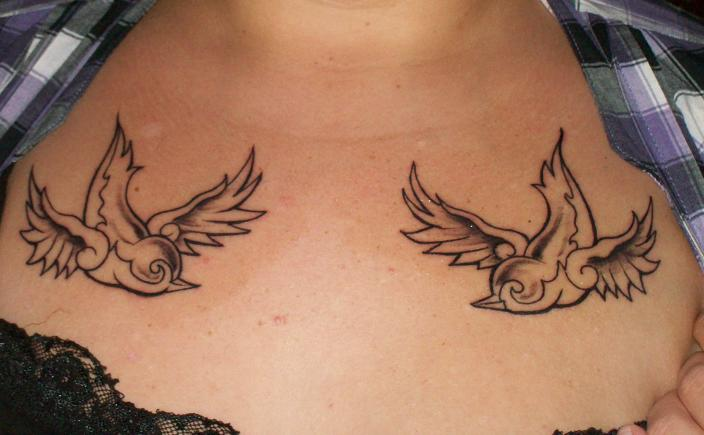 Sparrow tattoo for men - photo#7