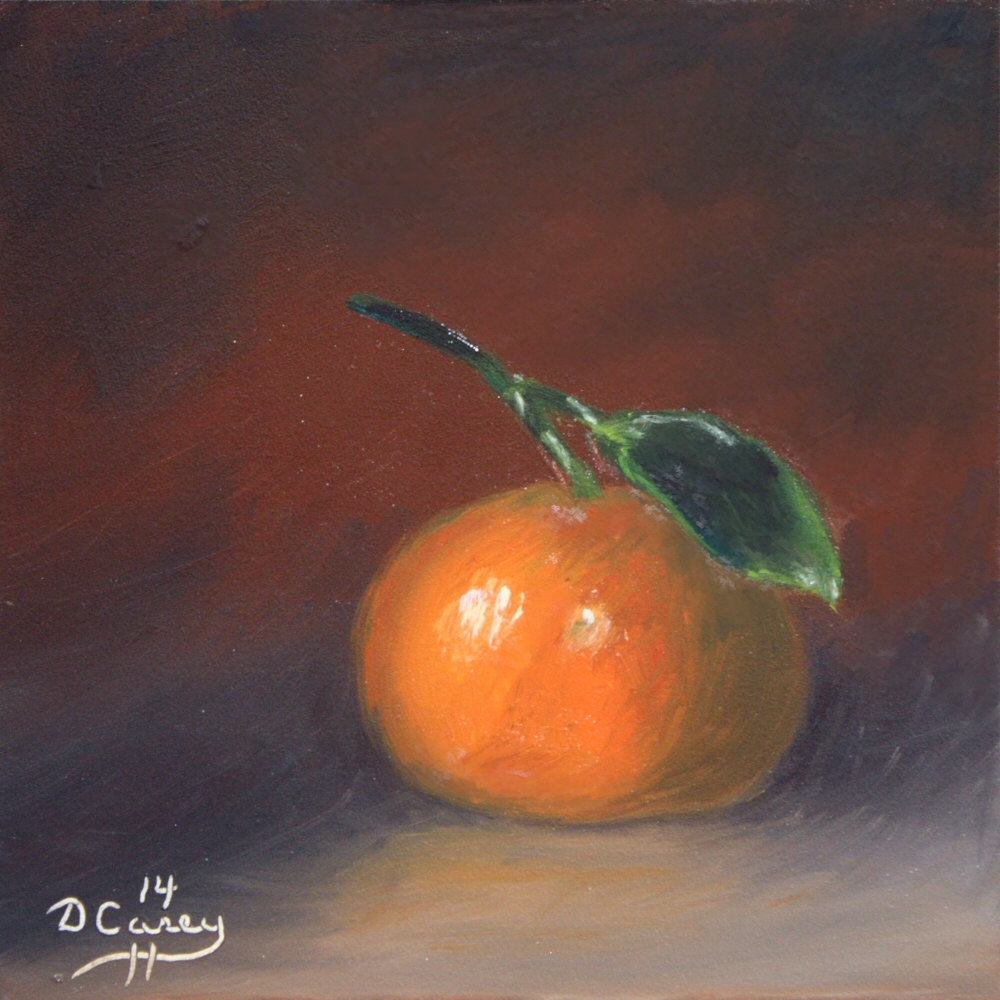 Kitchen Painting - Tangerine 06a 6x6 oil on gessobord - Dave Casey - TheDailyPainter.jpg