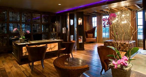 Just add glitter bohemian vibe for Hotel chic decor