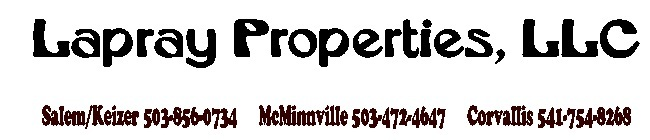 Lapray Properties, LLC