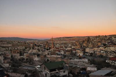 Sunset in Göreme, Cappadocia