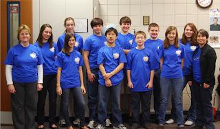 Catholic's MathCounts Team Receives Silver Status 1