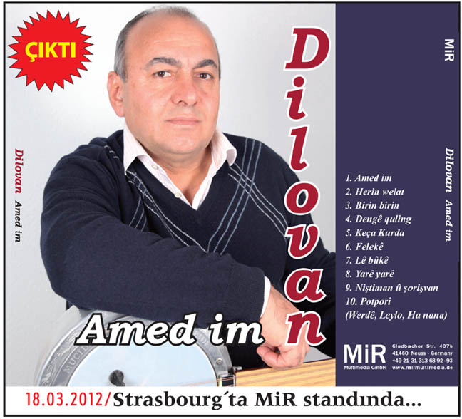 Dilovan-Amed im 2012 Albümü  Dilovan-amedim