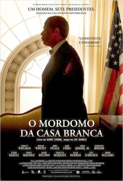 Filme O Mordomo da Casa Branca Dublado AVI BDRip