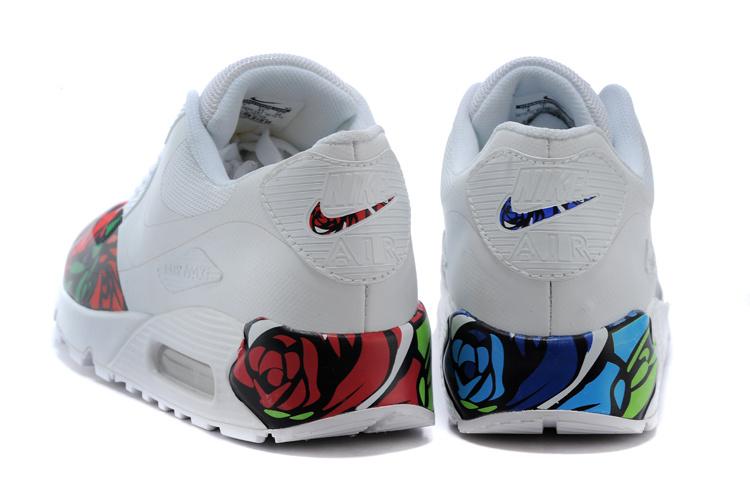 Fashion 2015 Nike Air Max 90 Women&Men Thorn love. Nike Newproducts 089