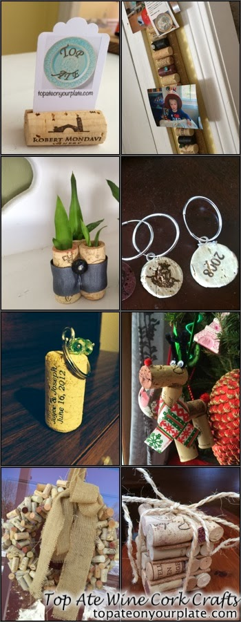 Eight DIY wine cork ideas