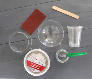 Maceta en cemento DIY. www.soyunmix.com