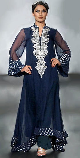 Fashion & Beauty: Beautiful Anar kali Dresses Designs & Pics !