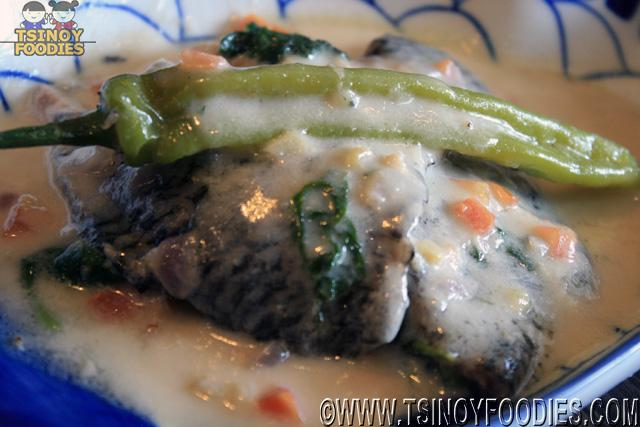 tinapa fillet in coconut milk