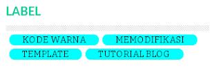 Cara Membuat Label Keren dengan Efek CSS di Blog