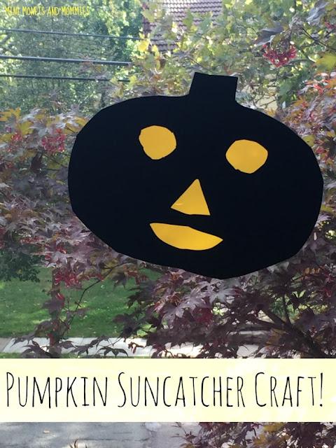 Pumpkin window cling