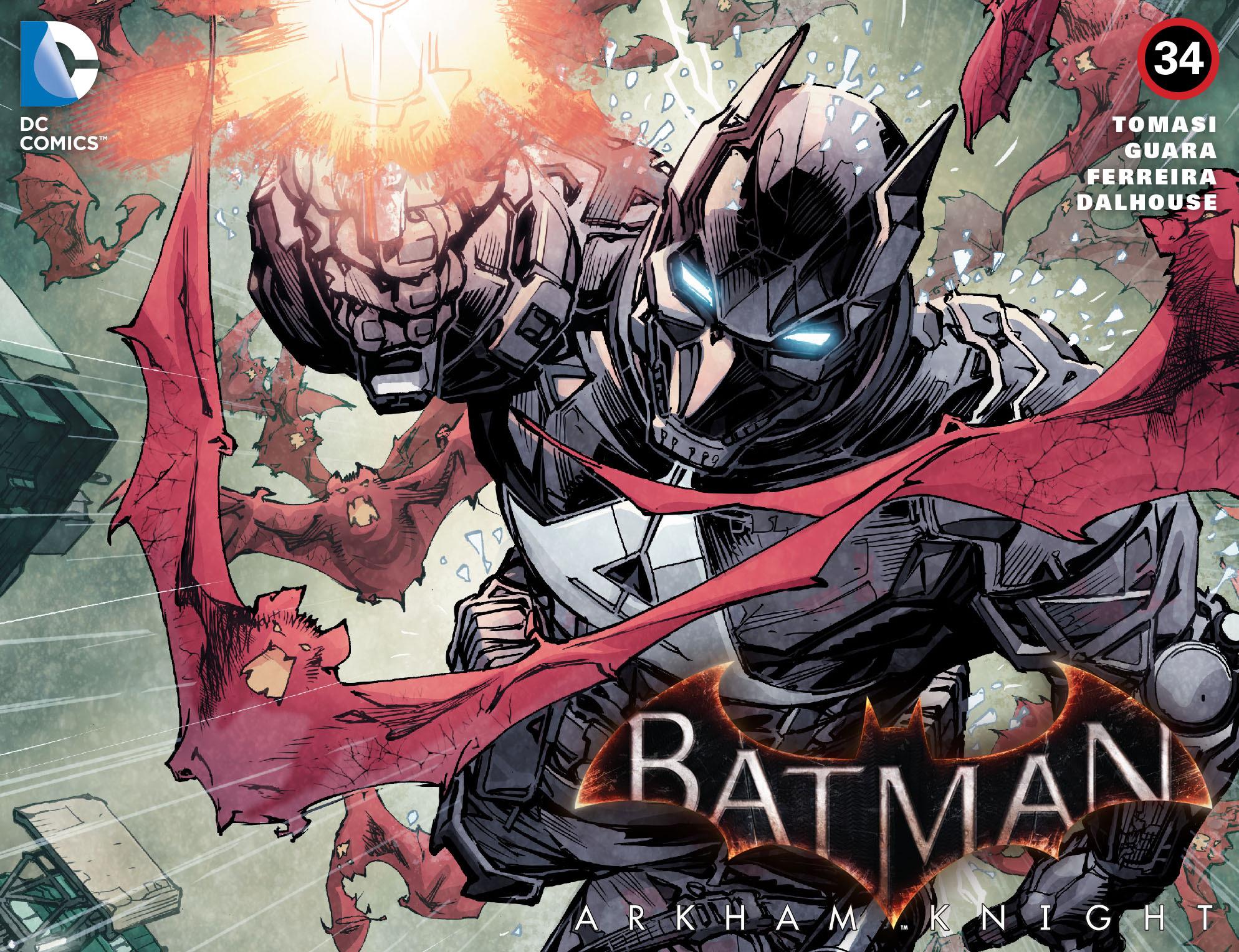 Batman: Arkham Knight [I] Issue #34 #36 - English 1