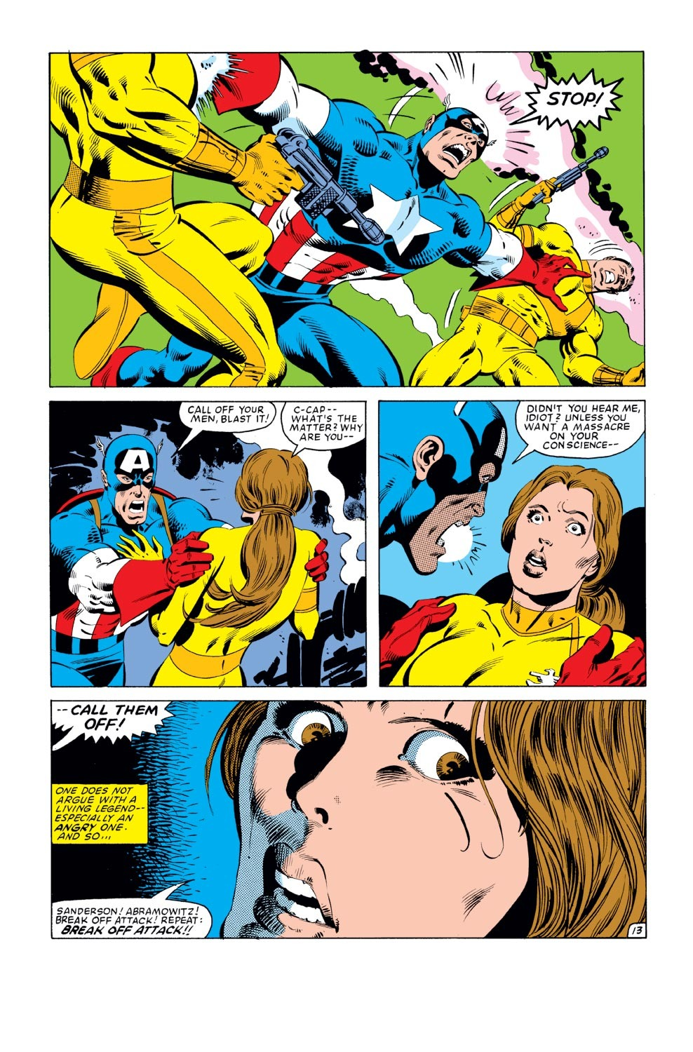Captain America (1968) Issue #278 #194 - English 14
