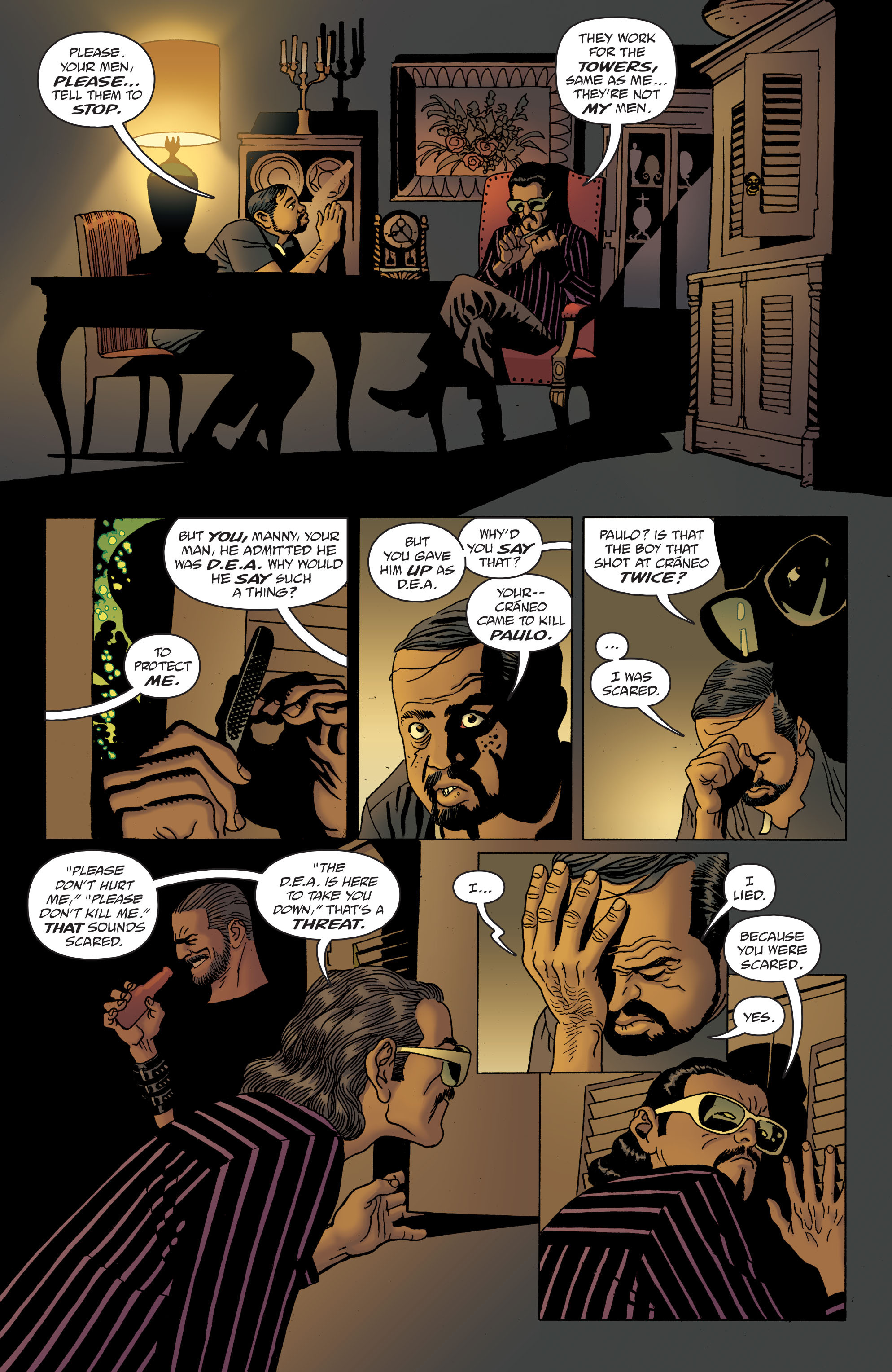 100 Bullets: Brother Lono Full Page 149