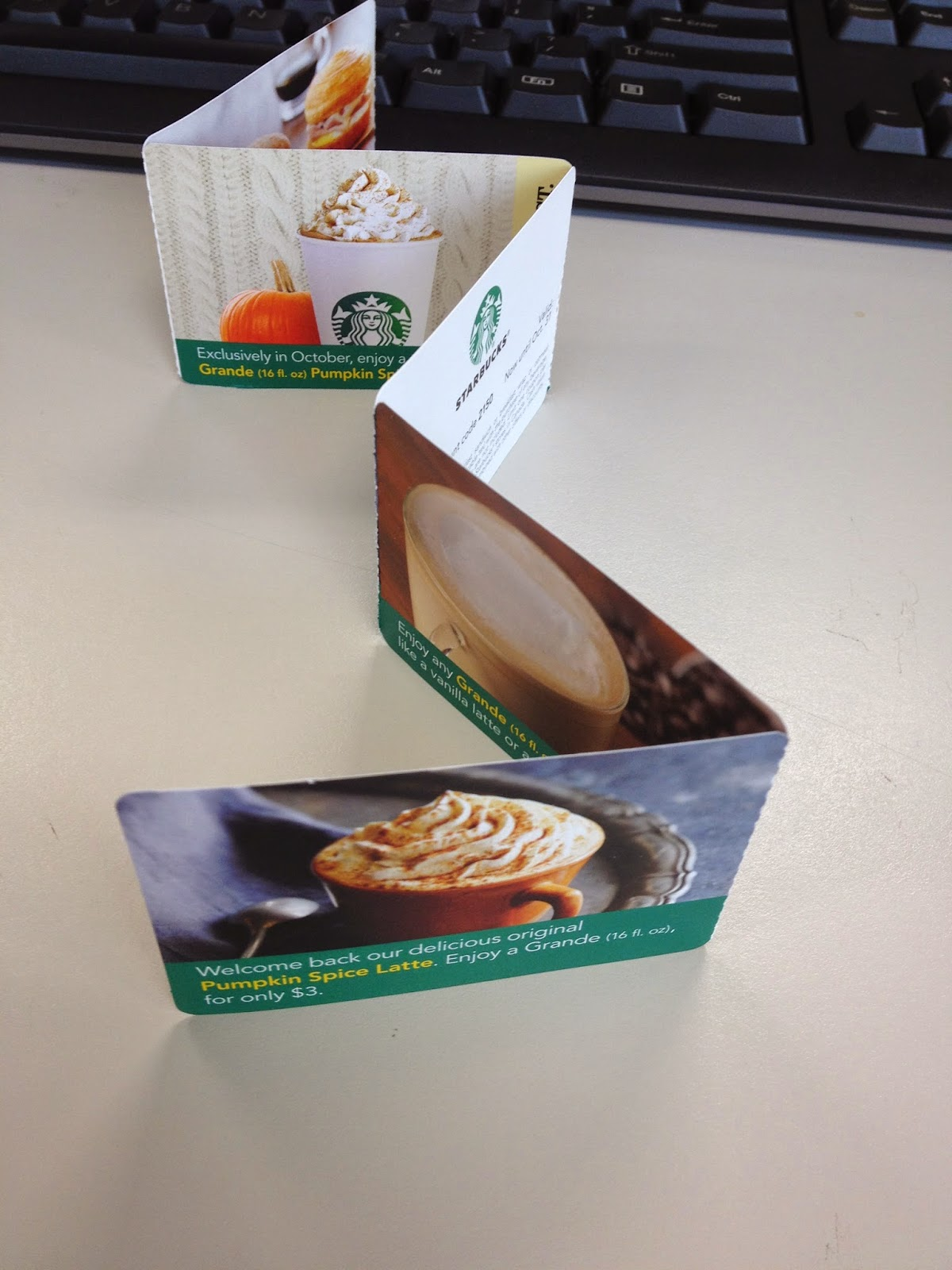 Starbucks PSL coupons