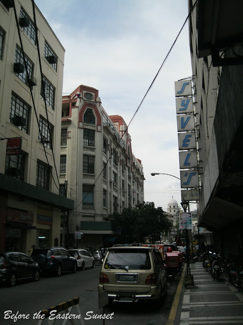 Syvel's Building located along Kalye Escolta.
