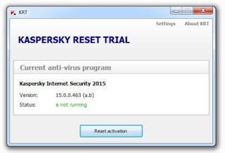 Kaspersky Trial Reset 5.0.0.112 Terbaru