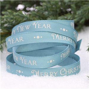 cute ribbon blue
