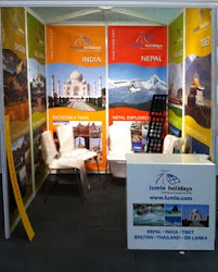Lumle stand at the Adventure and Travel Show