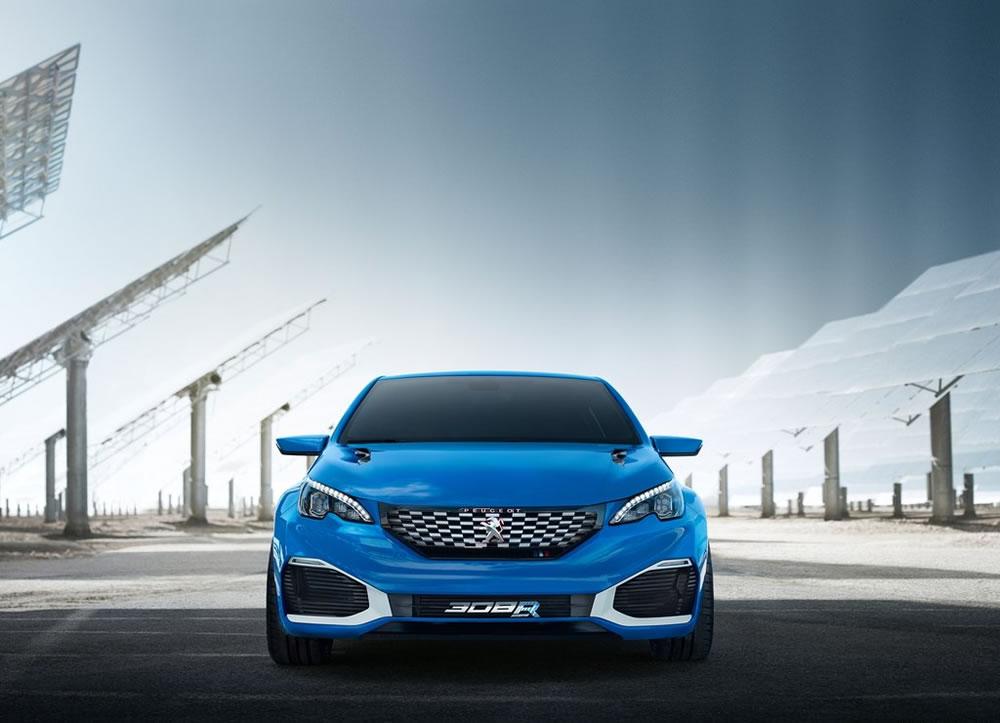 「308R HYbrid Concept」のフロント画像