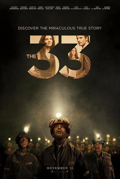 Film The 33 2015 di Bioskop