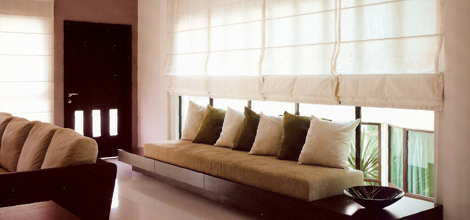 Decoracion interior cortinas verticales estores - Cortinas con estores ...