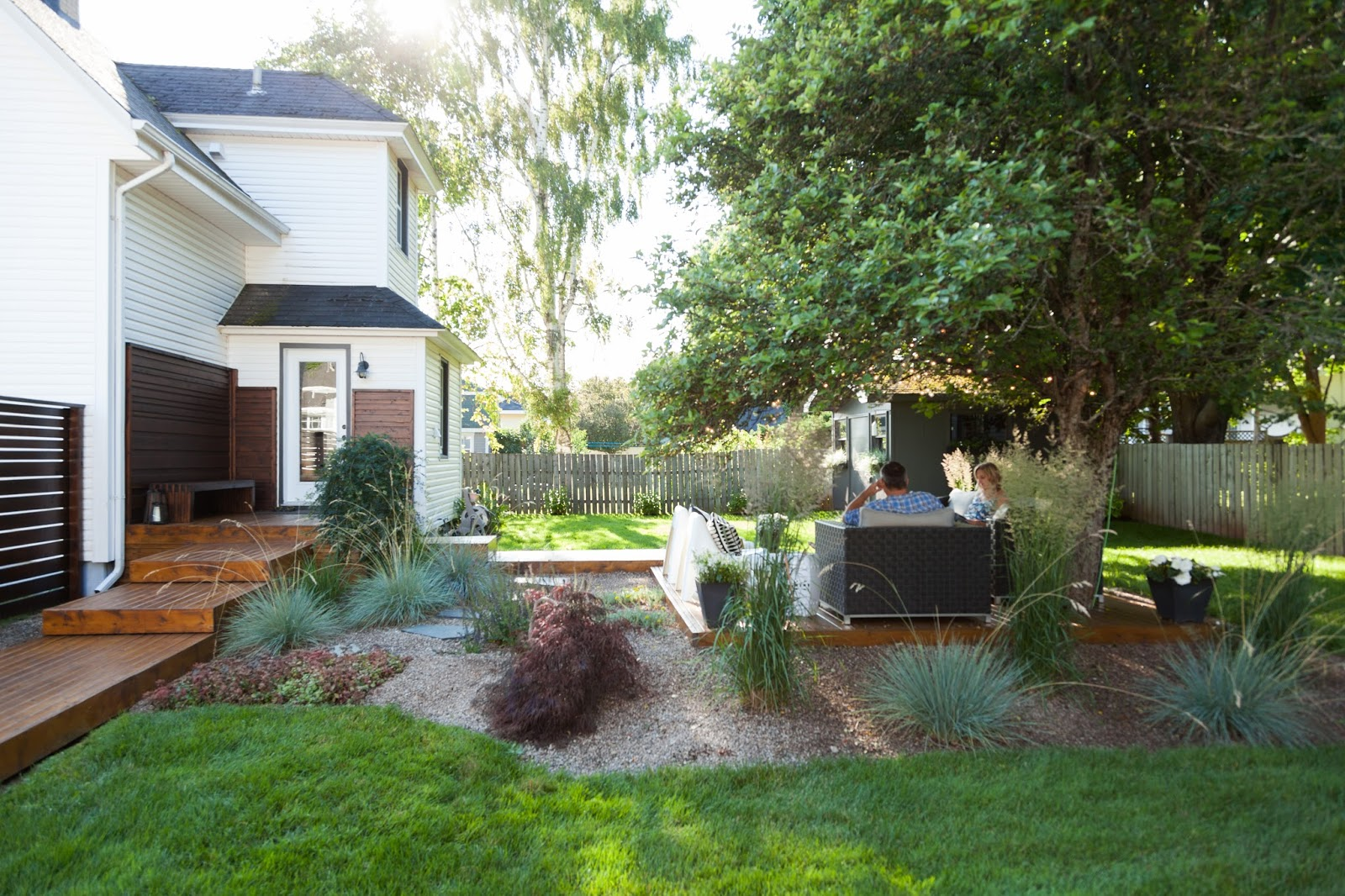modern jane our backyard