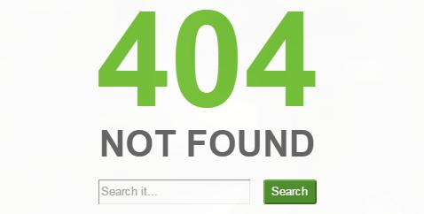 Custom 404 Page Thesis